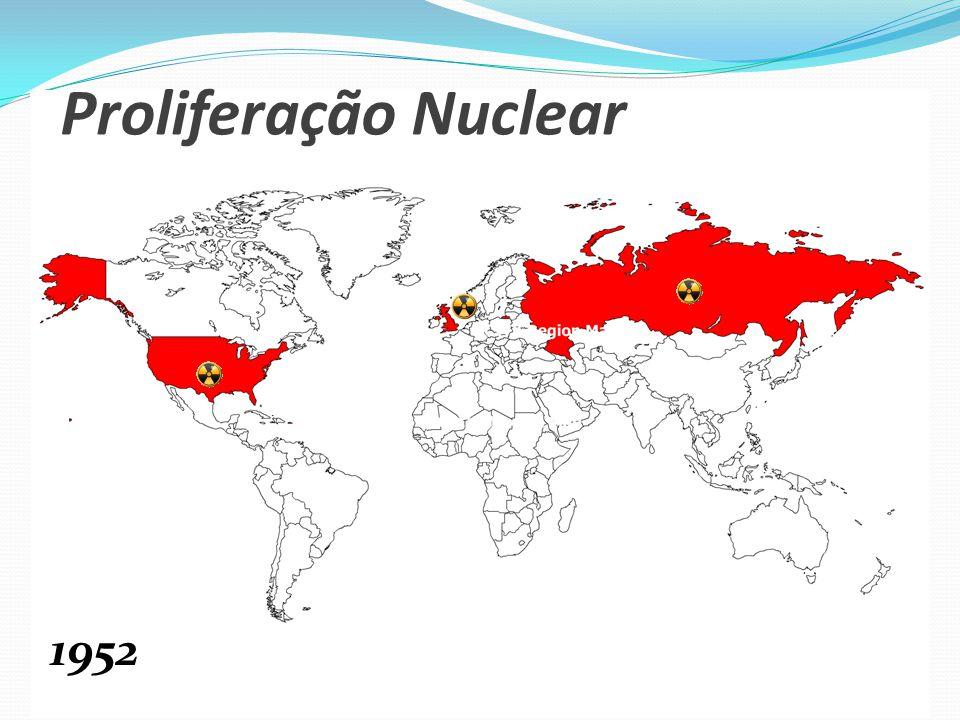 Proliferação Nuclear 1952