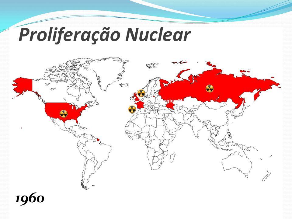 Proliferação Nuclear 1960