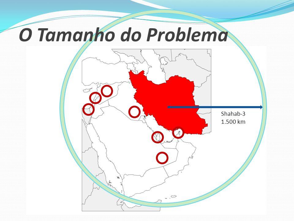 Shahab-3 1.500 km O Tamanho do Problema