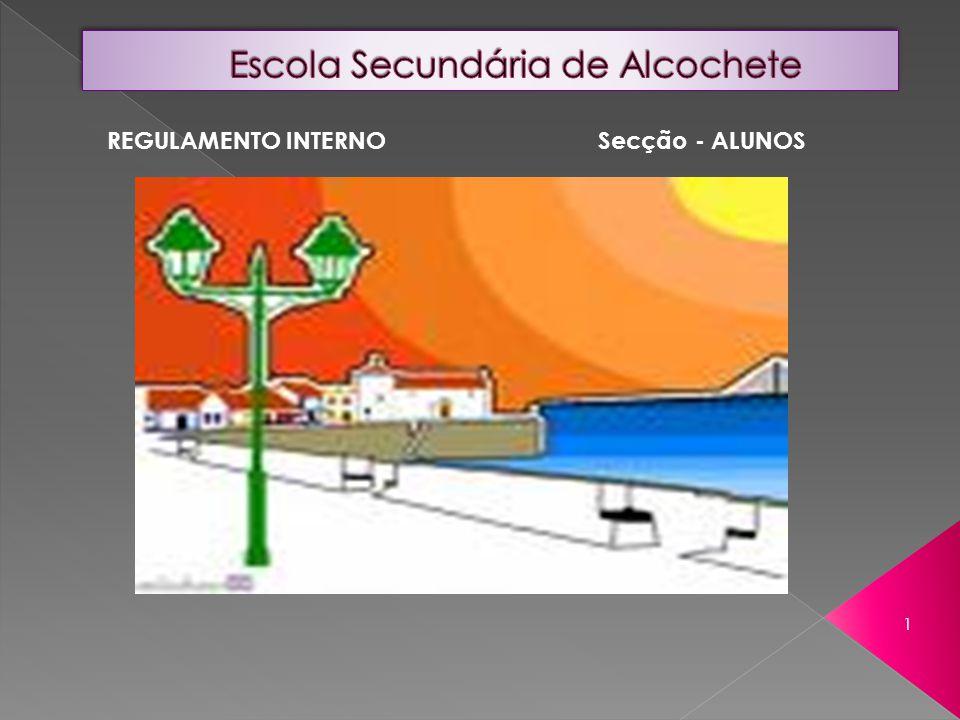 REGULAMENTO INTERNO Secção - ALUNOS 1