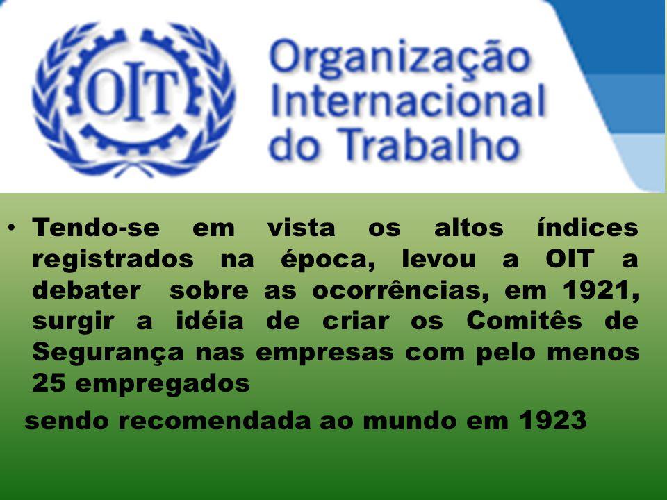 No Brasil, atendida parcialmente por meio do Art.82 do Decreto-Lei nº 7036, de 10/11/44, que determinava que todas as empresas com 100 (cem) ou mais empregados.