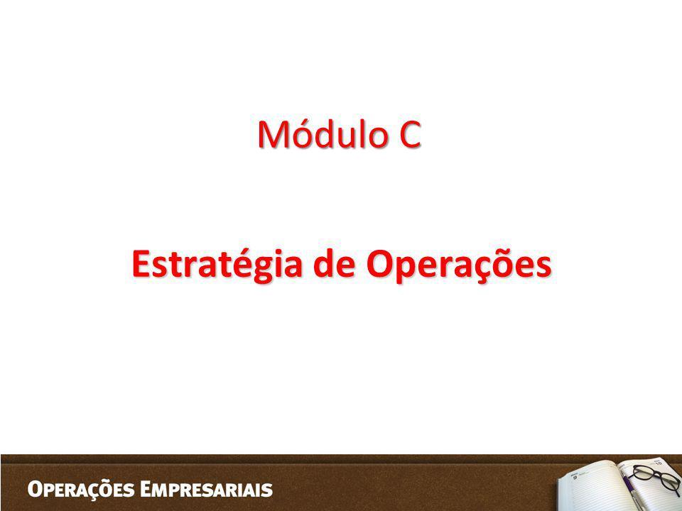 Módulo C Estratégia de Operações