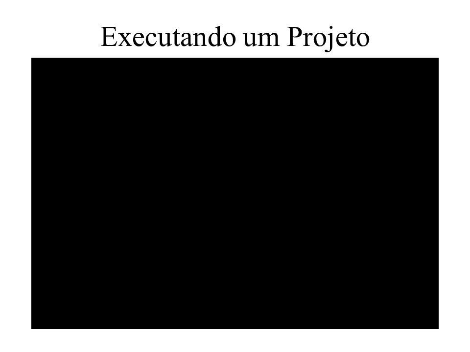 Executando um Projeto