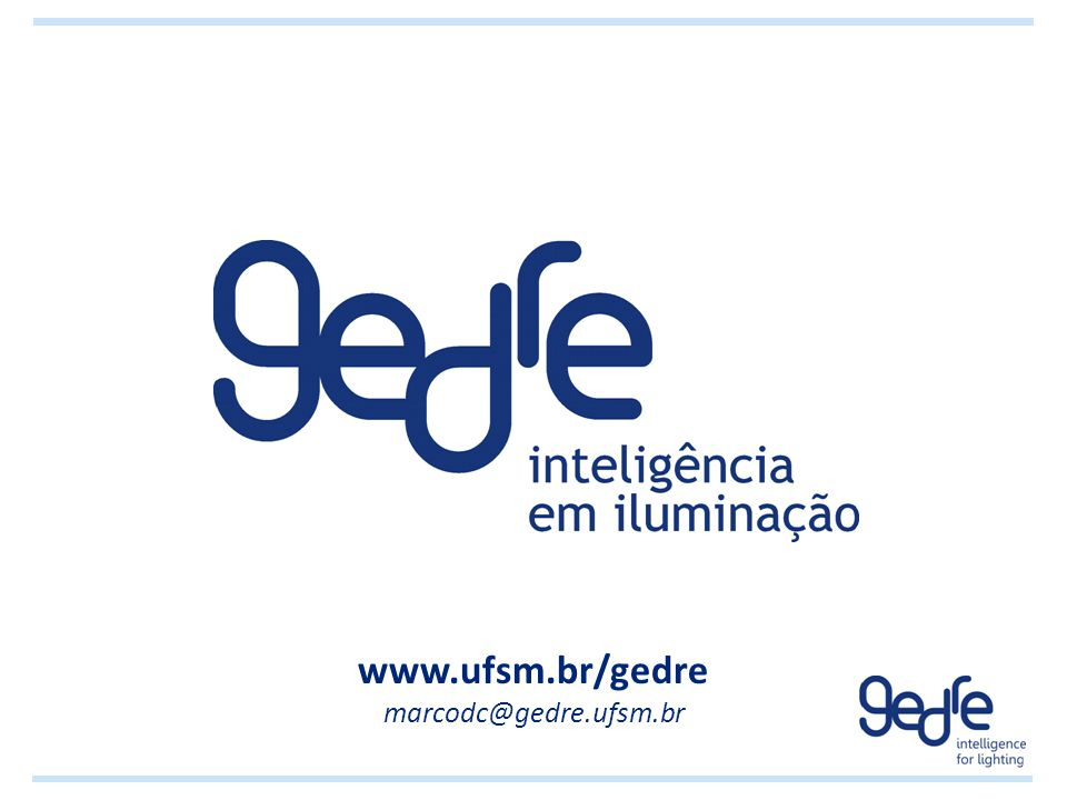 www.ufsm.br/gedre marcodc@gedre.ufsm.br