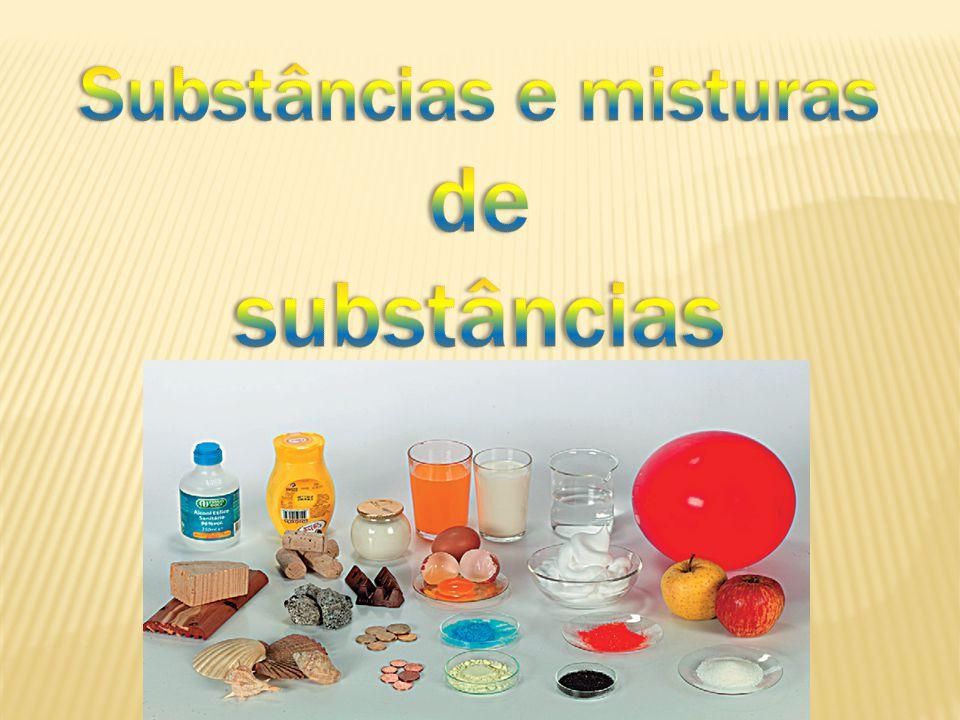 Classificação da matéria Substância pura ou substância Substância simples Todo material cuja a fusão e ebulição ocorrem a uma temperatura constante.