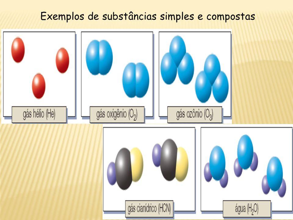 Mistura: é formada por mais de uma substância, as quais não podem ser representadas por uma única fórmula.