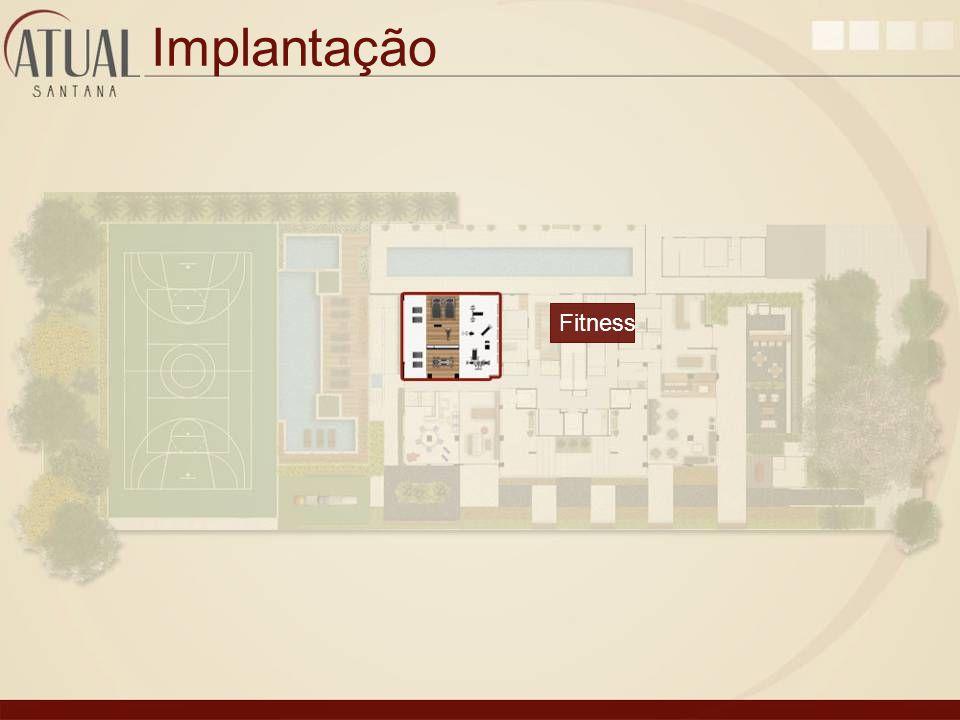 Implantação Fitness