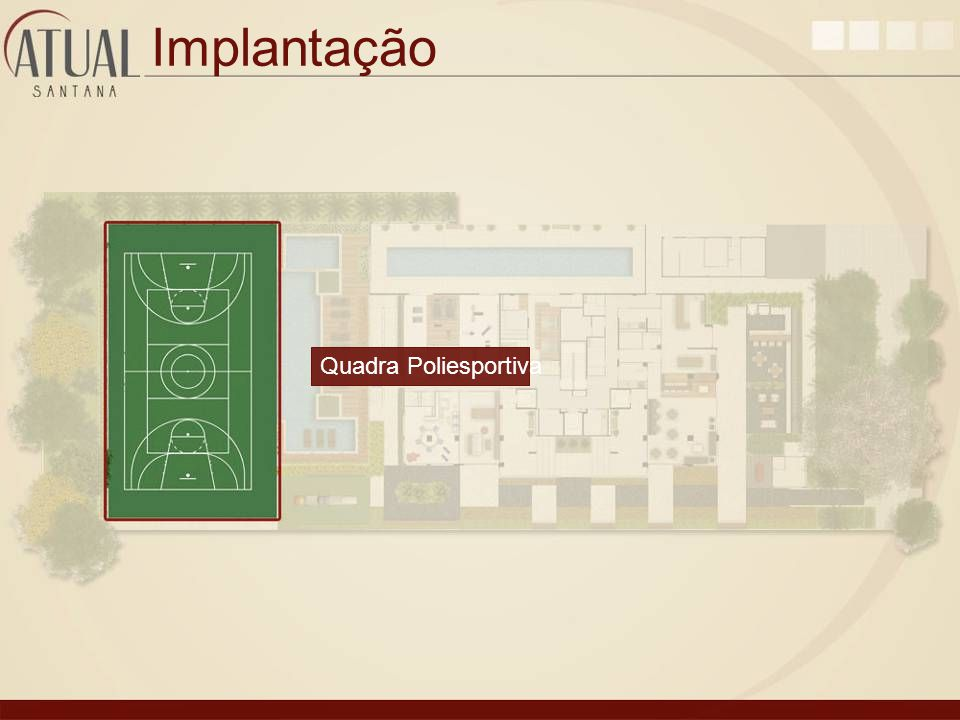 Implantação Quadra Poliesportiva