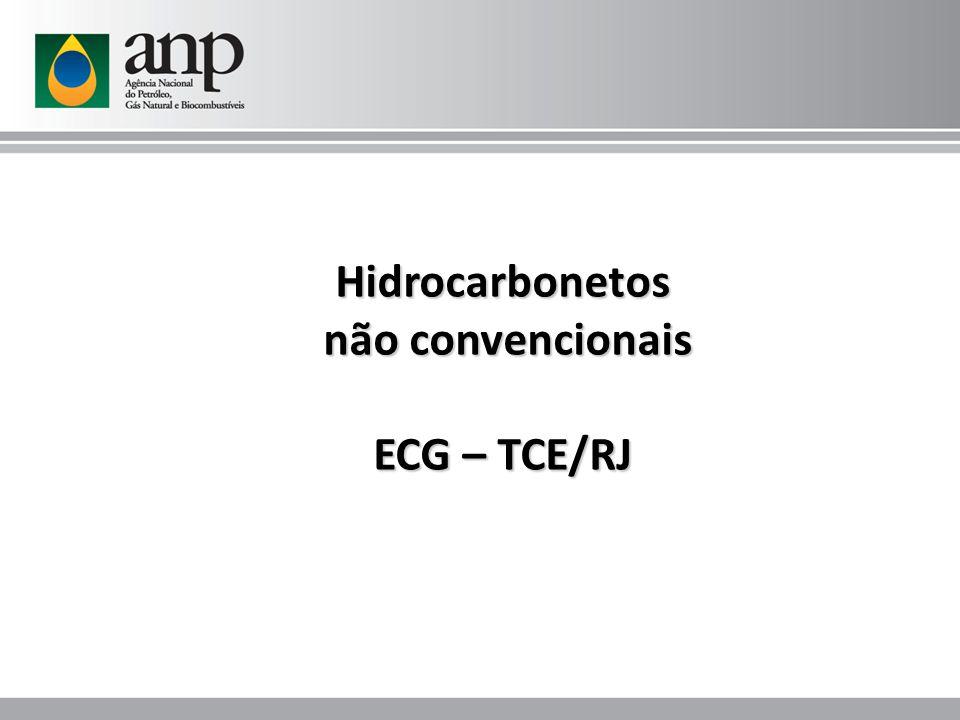 Hidrocarbonetos não convencionais não convencionais ECG – TCE/RJ