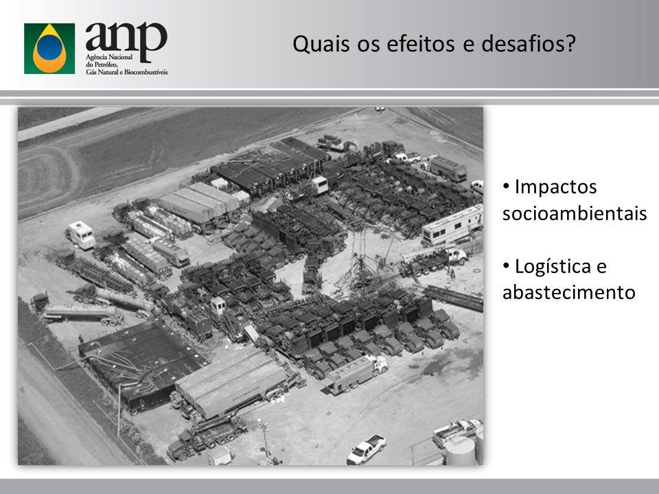 Impactos socioambientais Logística e abastecimento Quais os efeitos e desafios?