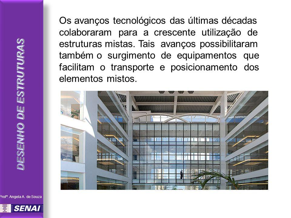 Os avanços tecnológicos das últimas décadas colaboraram para a crescente utilização de estruturas mistas.