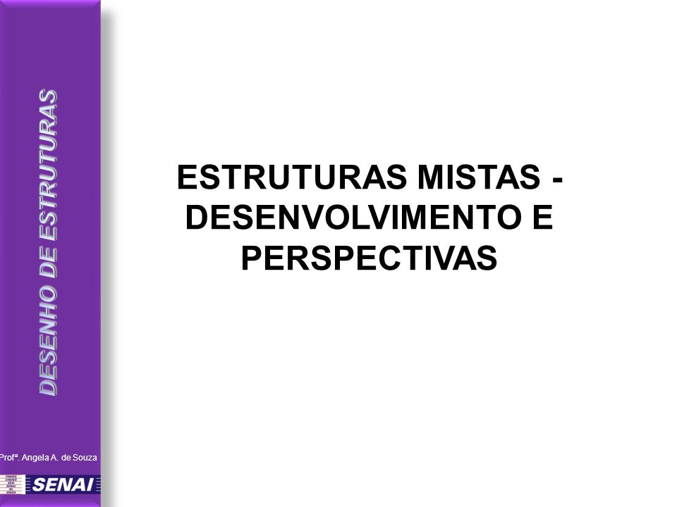 ESTRUTURAS MISTAS - DESENVOLVIMENTO E PERSPECTIVAS Profª. Angela A. de Souza