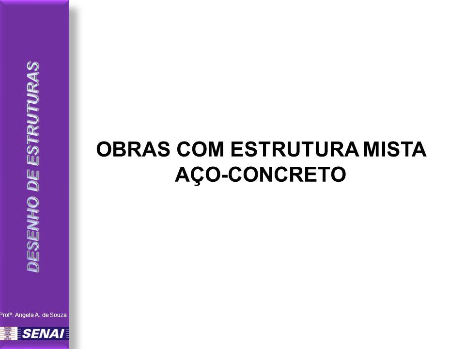 OBRAS COM ESTRUTURA MISTA AÇO-CONCRETO Profª. Angela A. de Souza