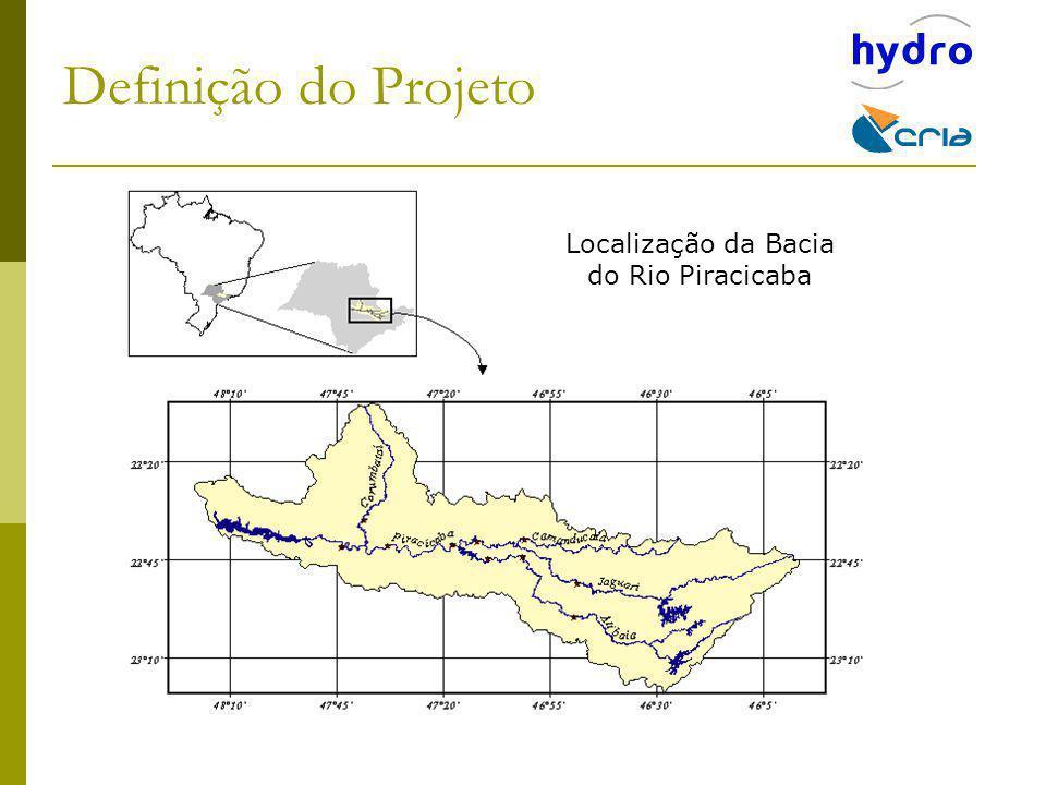 Localização da Bacia do Rio Piracicaba