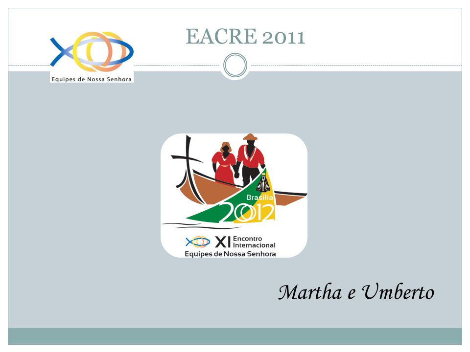 EACRE 2011 Martha e Umberto
