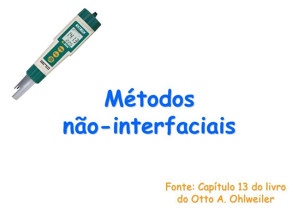 Métodos não interfaciais Fonte: Capítulo 13 do livro do Otto A. Ohlweiler