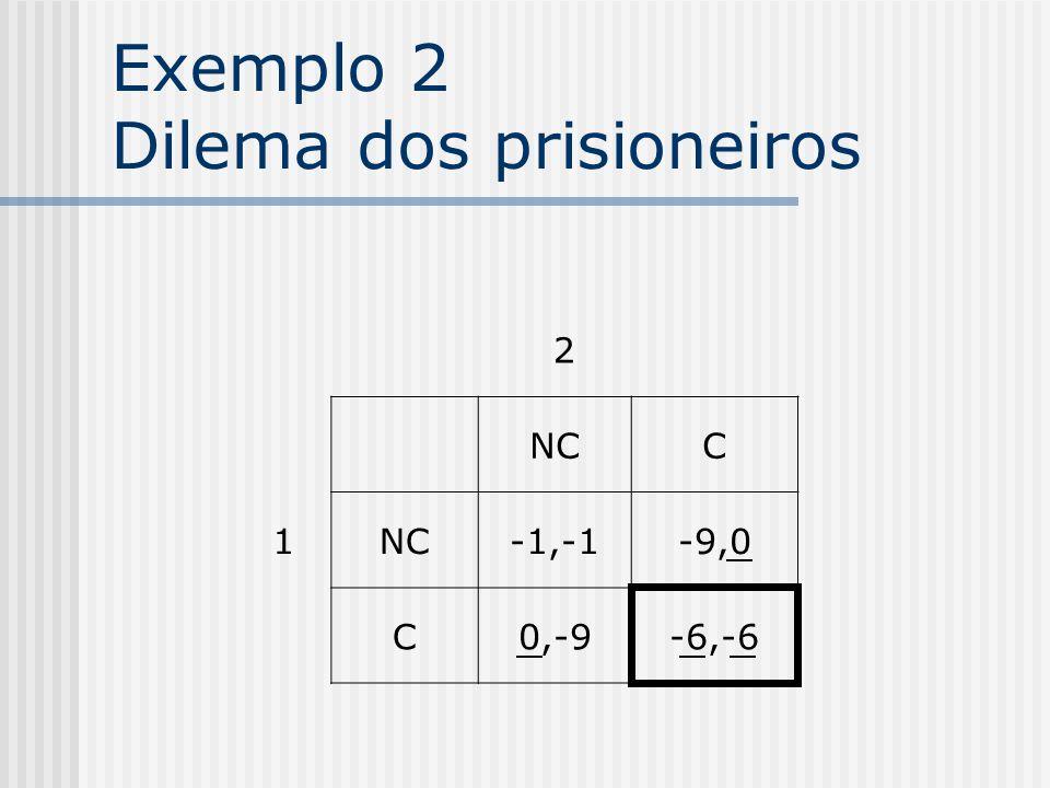 Exemplo 1 2 1 ECD A1,23,43,3 B2,33,14,2