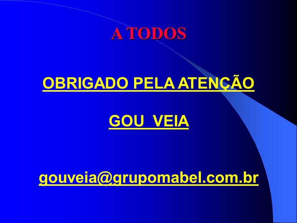 OBRIGADO PELA ATENÇÃO GOU VEIA gouveia@grupomabel.com.br A TODOS