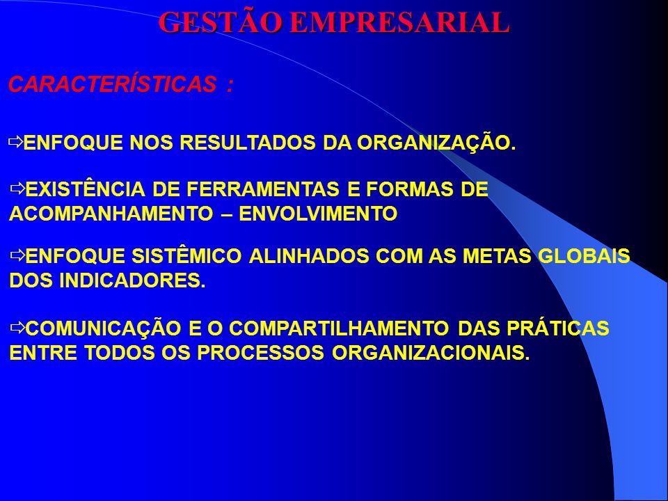 CLIENTE MISSÃO (POR QUE DA EXISTÊNCIA DA ORGANIZAÇÃO) PROCESSO (RECURSO) PRODUTO (QUALIDADE E SERVIÇO) (COMO GERENCIAR O FLUXO DAS INFORMAÇÕES) INFRA-ESTRUTURA DA INFORMAÇÃO GESTÃO EMPRESARIAL