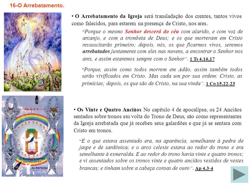 15-A Grande Tribulação.