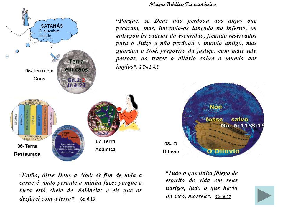 01 A Sabedoria 00 Eternidade Passada Mapa Bíblico Escatológico Antes que os montes nascessem, ou que tu formasses a terra e o mundo, sim, de eternidad