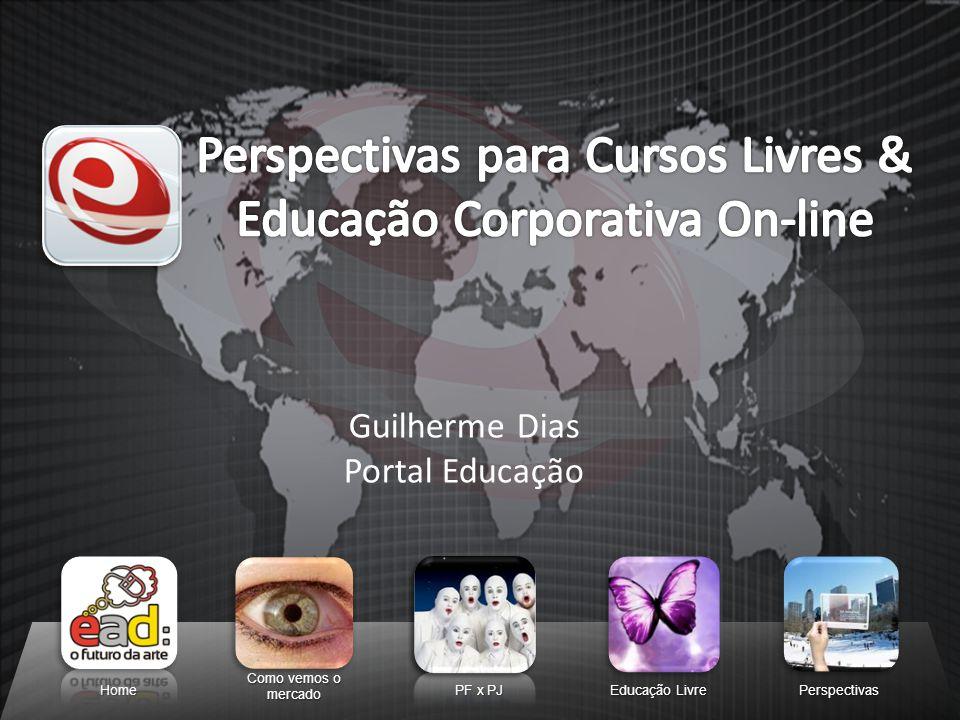 Home Como vemos o mercado PF x PJ Educação Livre Perspectivas Guilherme Dias Portal Educação