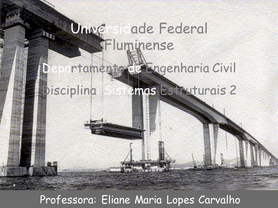 Universidade Federal Fluminense Departamento de Engenharia Civil Disciplina: Sistemas Estruturais 2 Professora: Eliane Maria Lopes Carvalho