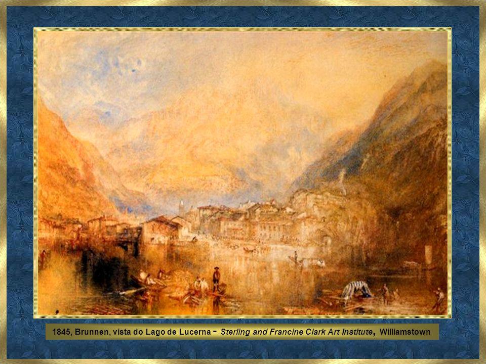 1843, Chegada a Veneza - National Gallery of Art, Washington