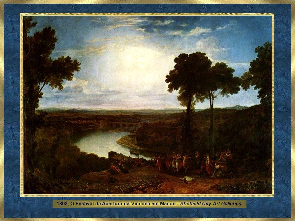 1803, O Festival da Abertura da Vindima em Macon - Sheffield City Art Galleries