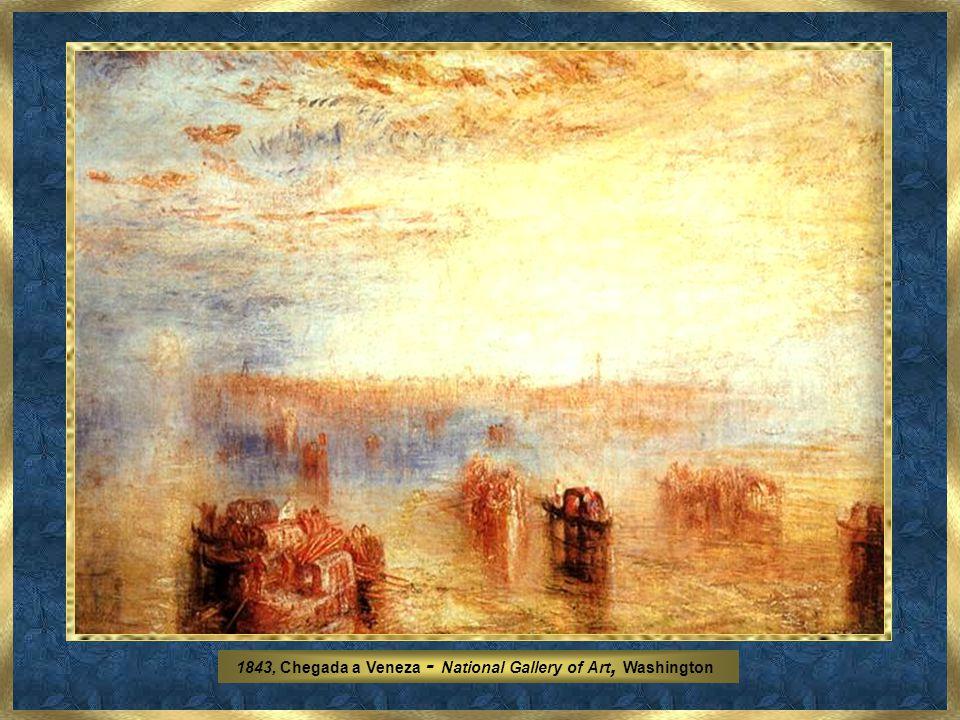1834, Salvadores de destroços de naufrágio – Costa de Northumberland - Yale Centre for British Art - Hartford