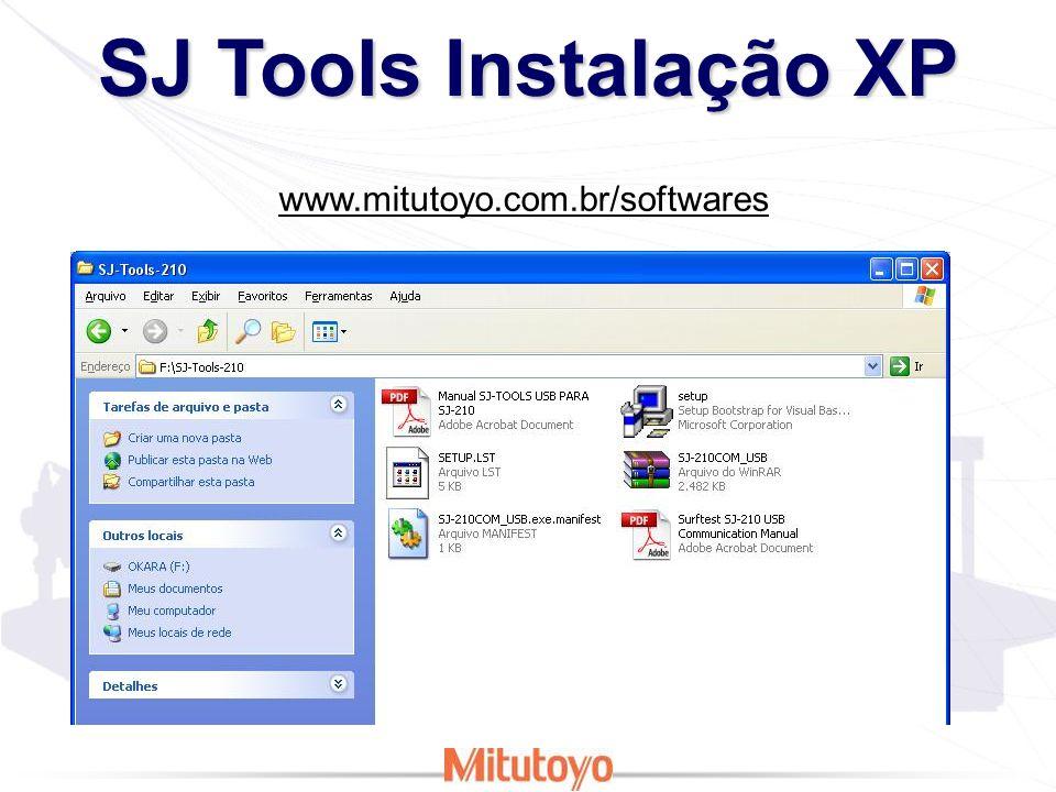 SJ Tools Instalação XP Executar como Administrador! Em computador com Microsoft Excel!