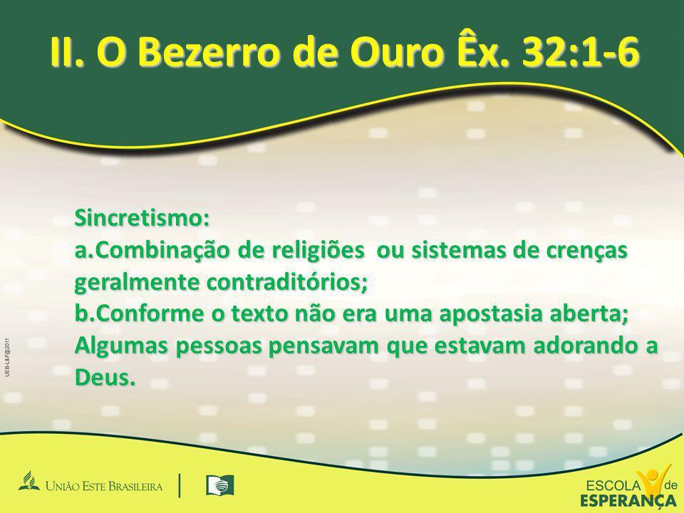 Sincretismo: a.Combinação de religiões ou sistemas de crenças geralmente contraditórios; b.Conforme o texto não era uma apostasia aberta; Algumas pess