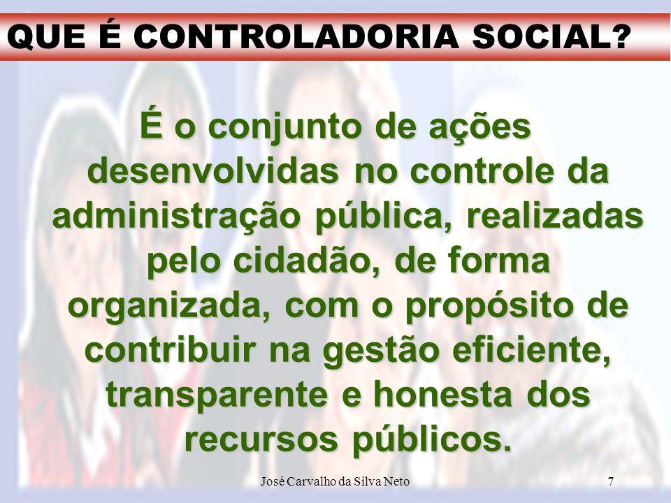 Prof.Carvalho Neto José Carvalho da Silva Neto18 O Teste da Transparência 14.