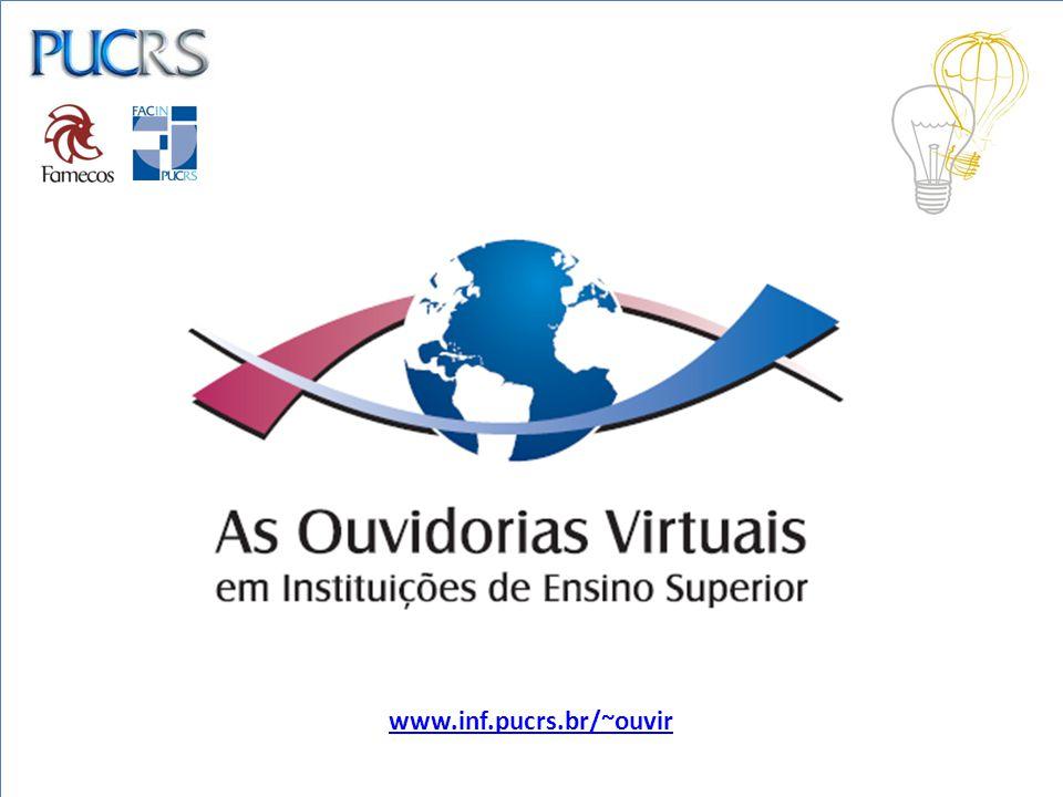 RESULTADOS PARCIAIS: Construção do site www.inf.pucrs.br/~ouvir como forma de ampliar as possibilidades de reflexão e visibilidade sobre o objeto de estudo.www.inf.pucrs.br/~ouvir