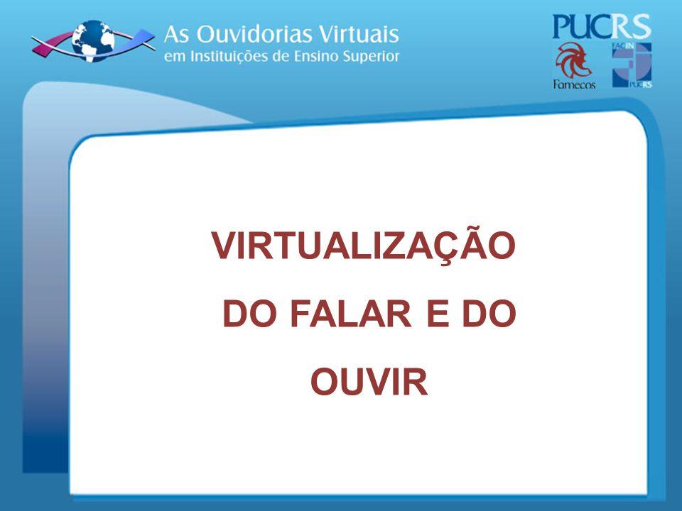 RESULTADOS PARCIAIS: Após uma visita aos sites das instituições selecionadas, percebe-se que algumas apenas possuem o link de contato virtual, não sendo possível, contudo, acessá-lo;