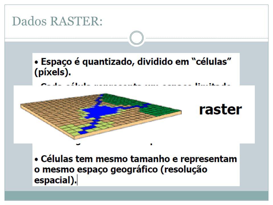 LINHAS -Sequência de pontos conectados (no mínimo dois); - Unidimensional (quando um ponto material está se movimentando segundo uma reta, ou seja, em uma única direção); - Utilizado para representação de ruas, estradas, rios, etc...