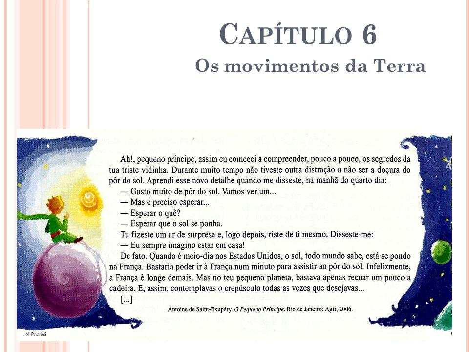 C APÍTULO 6 Os movimentos da Terra