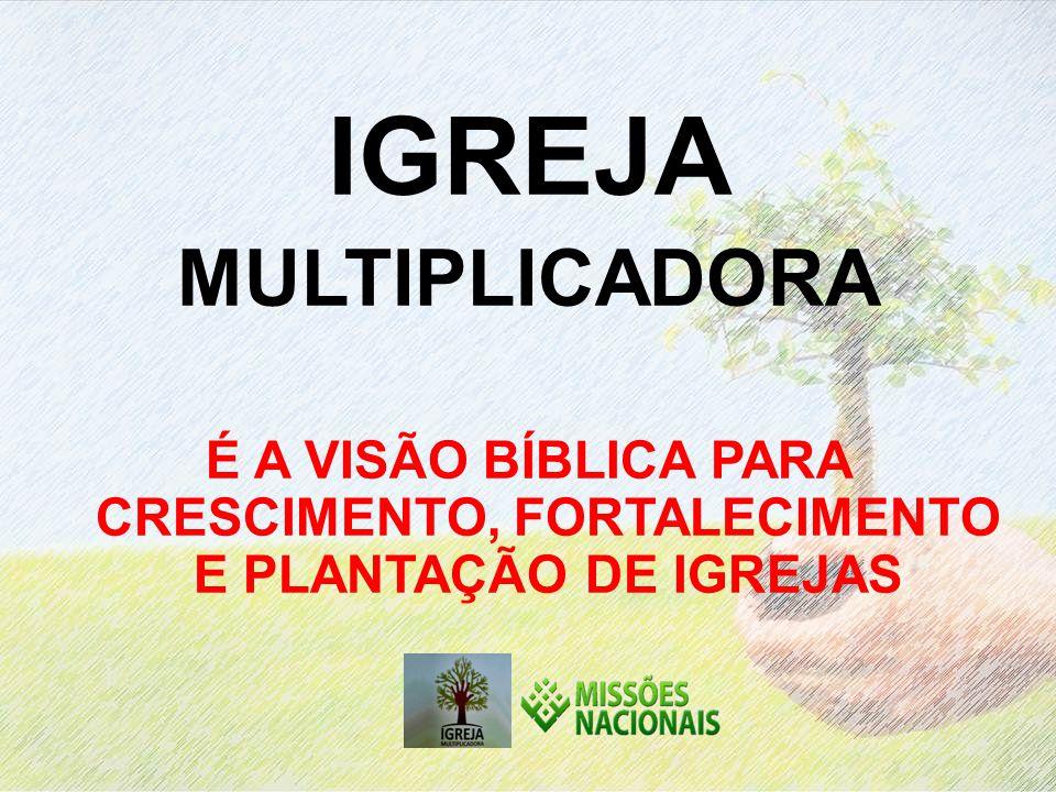 IGREJA MULTIPLICADORA É A VISÃO BÍBLICA PARA CRESCIMENTO, FORTALECIMENTO E PLANTAÇÃO DE IGREJAS