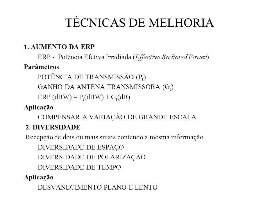 TÉCNICAS DE MELHORIA 1.