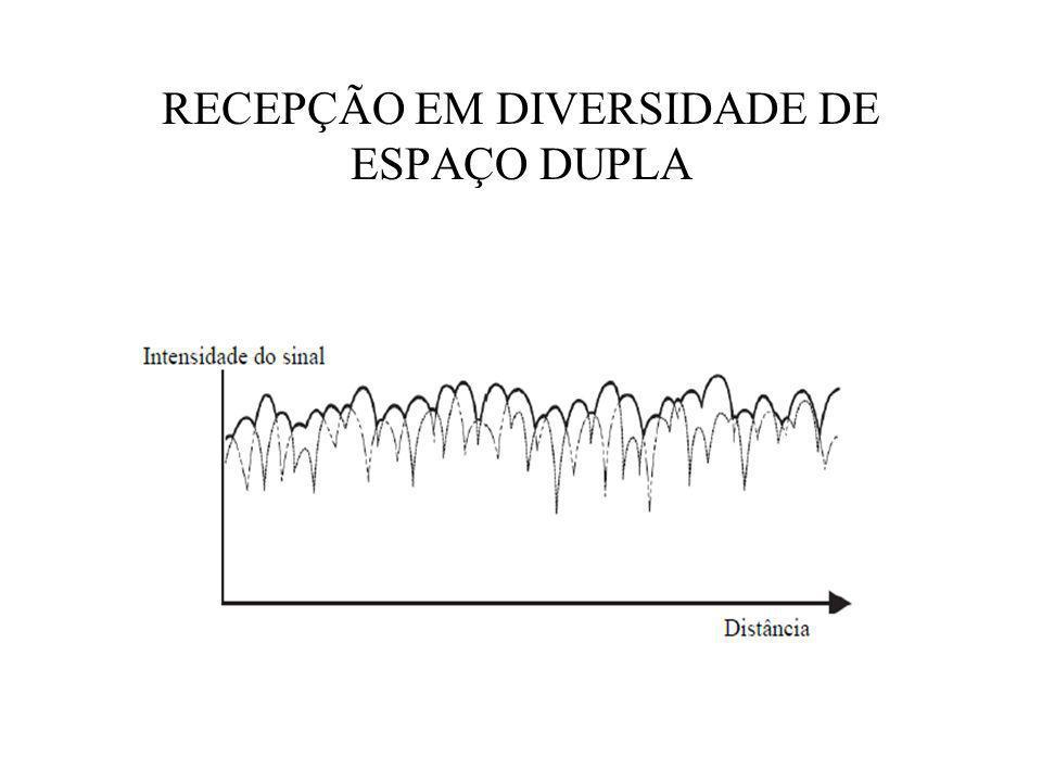 RECEPÇÃO EM DIVERSIDADE DE ESPAÇO DUPLA