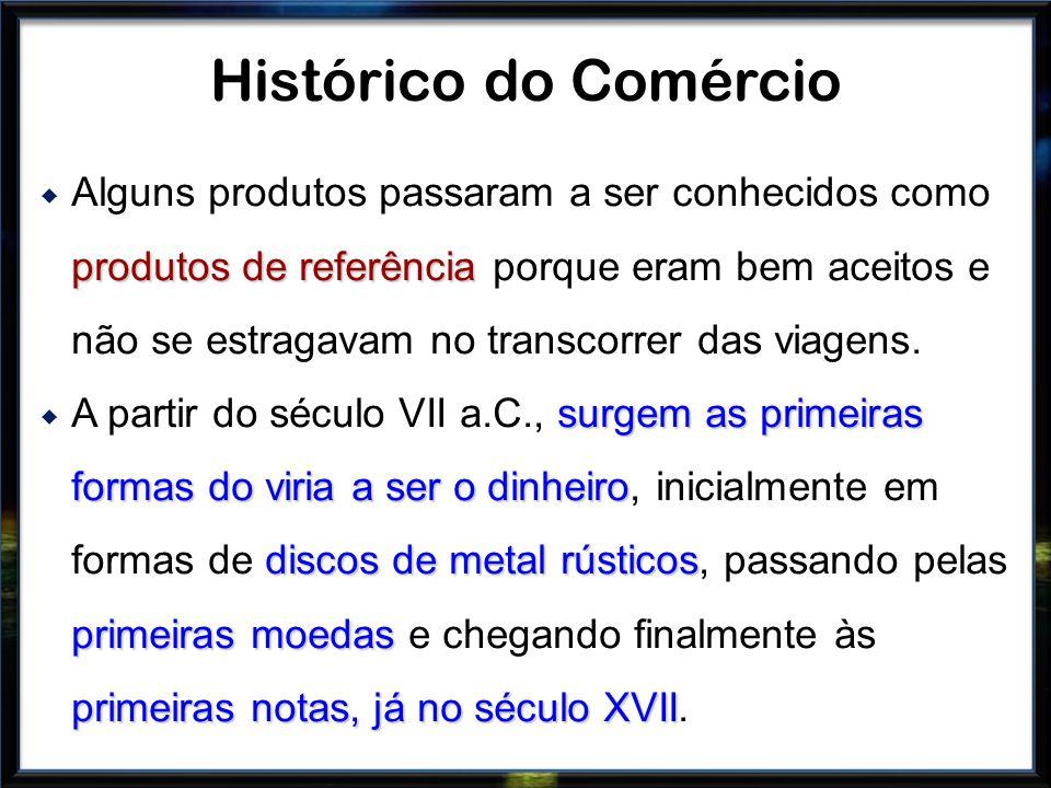 produtos de referência Alguns produtos passaram a ser conhecidos como produtos de referência porque eram bem aceitos e não se estragavam no transcorre