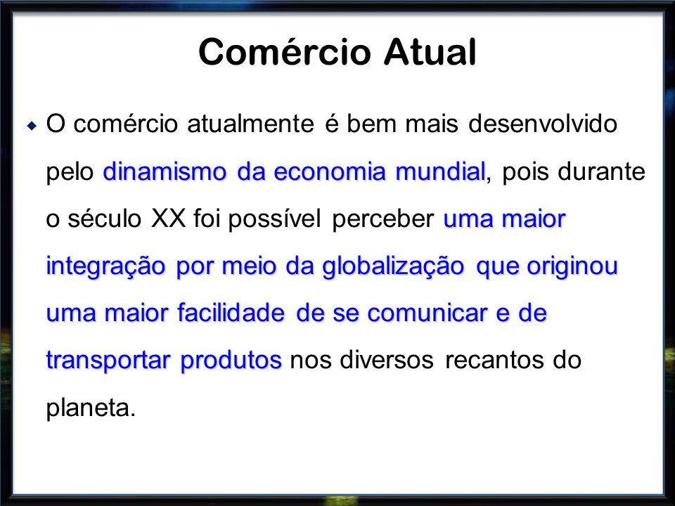 dinamismo da economia mundial uma maior integração por meio da globalização que originou uma maior facilidade de se comunicar e de transportar produto