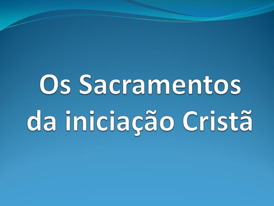 Para o Novo Testamento o dom do Espírito faz parte do evento batismal.