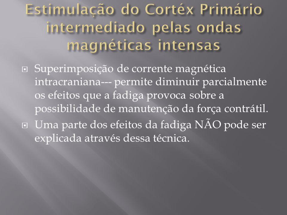 Superimposição de corrente magnética intracraniana--- permite diminuir parcialmente os efeitos que a fadiga provoca sobre a possibilidade de manutençã