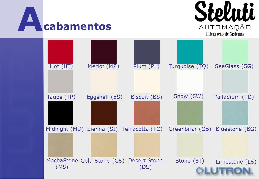 A cabamentos Hot (HT)Merlot (MR)Plum (PL)Turquoise (TQ)SeeGlass (SG) Taupe (TP)Eggshell (ES)Biscuit (BS) Snow (SW) Palladium (PD) Midnight (MD)Sienna