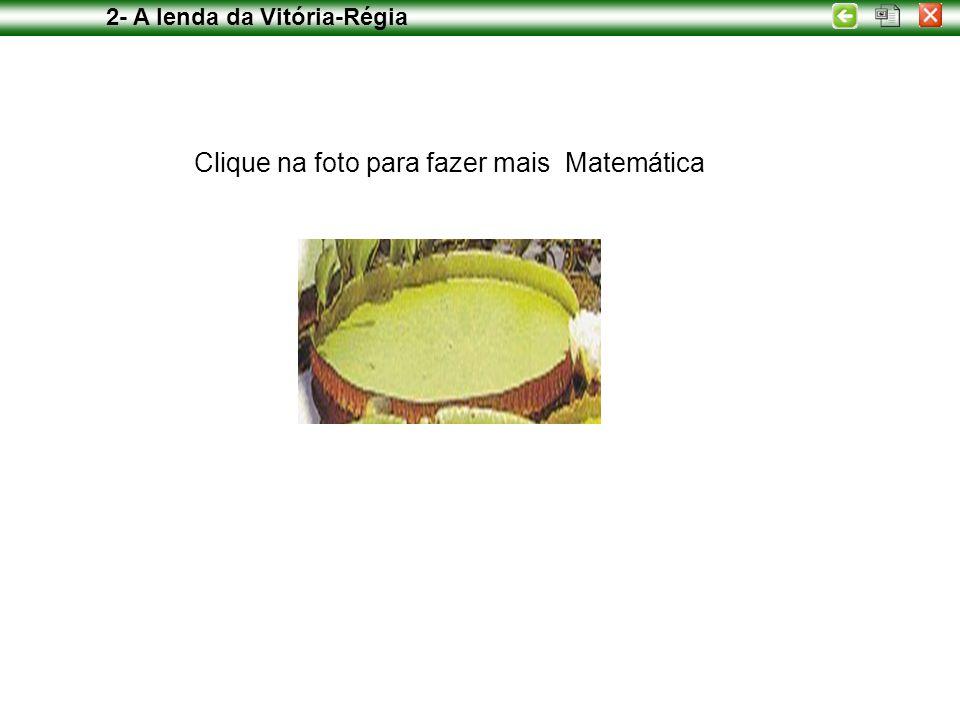 Clique na foto para fazer mais Matemática 2- A lenda da Vitória-Régia