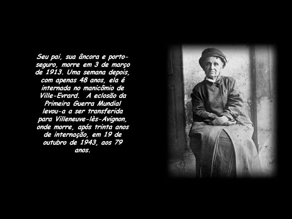 Depois de 1905, os períodos paranóicos de Camille multiplicam-se e acentuam-se. Ela crê em seus delírios que Rodin está se apoderando de suas obras pa