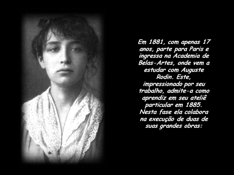 Em 1881, com apenas 17 anos, parte para Paris e ingressa na Academia de Belas-Artes, onde vem a estudar com Auguste Rodin.