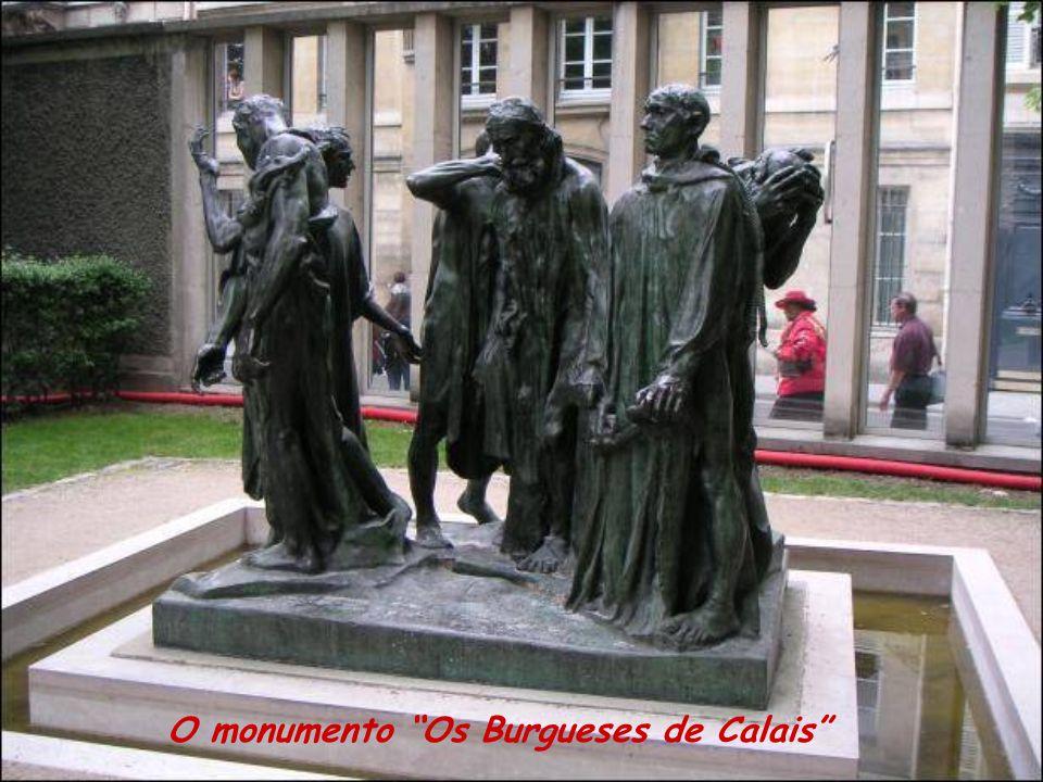 O monumento Os Burgueses de Calais