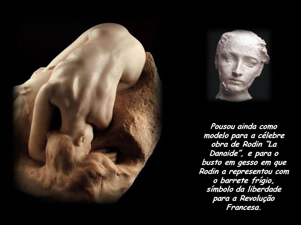 ...e Portas do Inferno. Tendo deixado sua família pelo amor de Rodin, paixão que viria a consumir seu universo emocional, ela trabalha vários anos a s